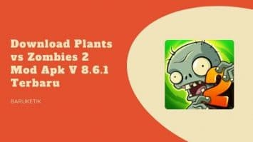 Download Plants vs Zombies 2 Mod Apk V 8.6.1 Terbaru