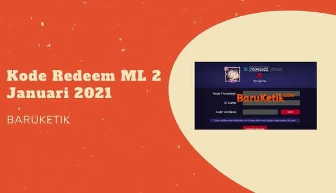 Kode Redeem ML 2 Januari 2021