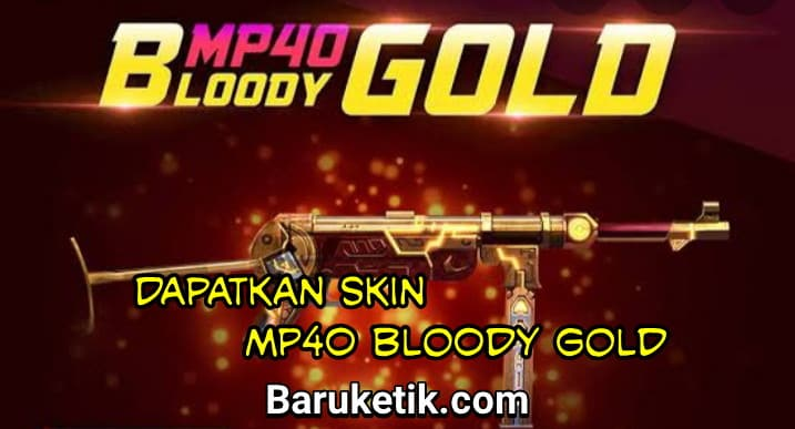Skin MP40 Bloody Gold