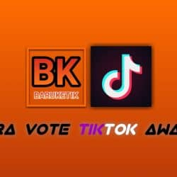 Cara Vote Tiktok Awards 2021