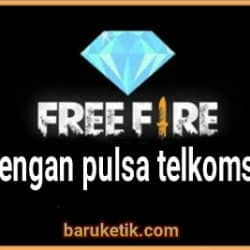 Top Up FF Pulsa Telkomsel